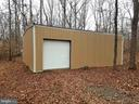 1200 Square Foot outbuilding! Six cars will fit - 21 CARDINAL DR, FREDERICKSBURG