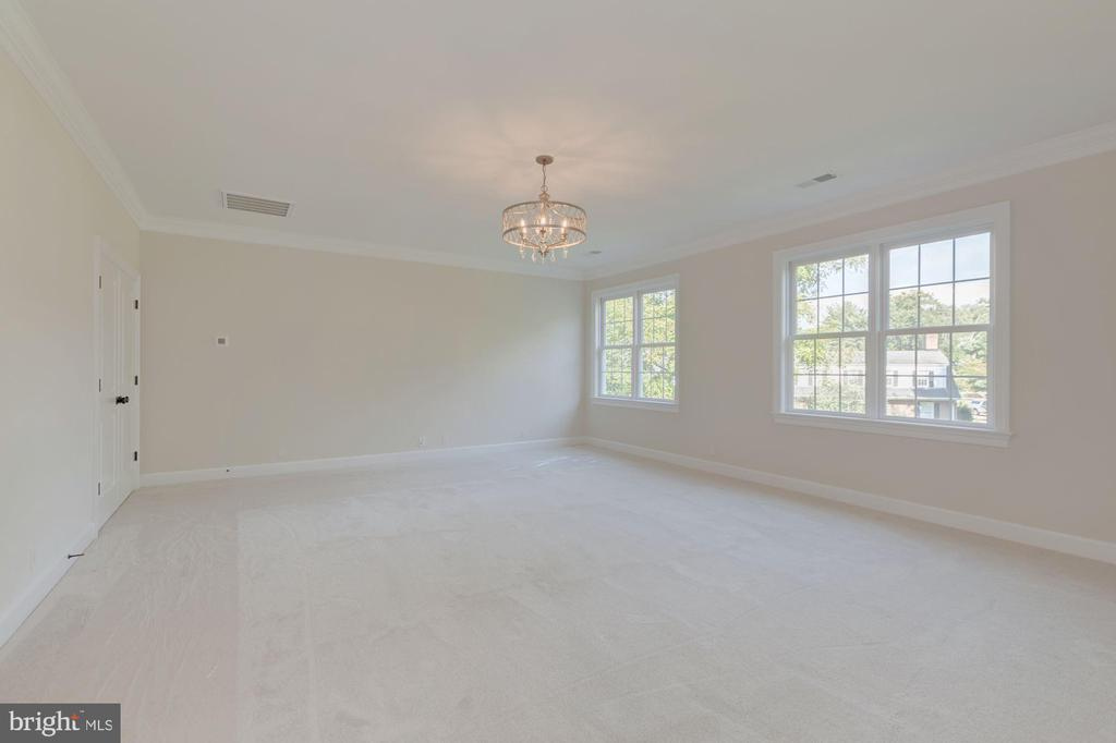 Basement Bedroom with Bathroom Access - 10510 COBBS GROVE LN, FAIRFAX