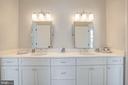 Jack and Jill has Double Vanity - 10510 COBBS GROVE LN, FAIRFAX