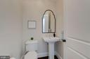 Main Level Powder Room - 10510 COBBS GROVE LN, FAIRFAX