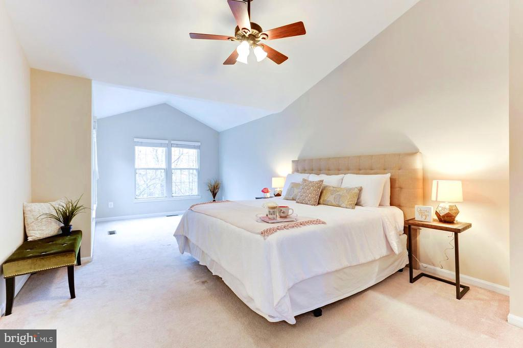 Natural light pours in through multiple windows - 1460 PARK GARDEN LN, RESTON
