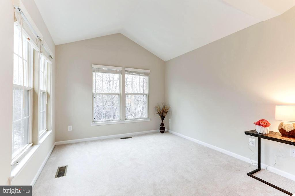 Room for seating area looks to trees - 1460 PARK GARDEN LN, RESTON