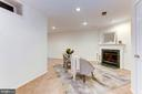 Enjoy cozy nights by the fire - 1460 PARK GARDEN LN, RESTON