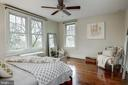 Large Master bedroom  with views of Masonic Temple - 300 N VIEW TER, ALEXANDRIA