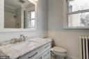 New carrera marble hall upper level bath - 300 N VIEW TER, ALEXANDRIA