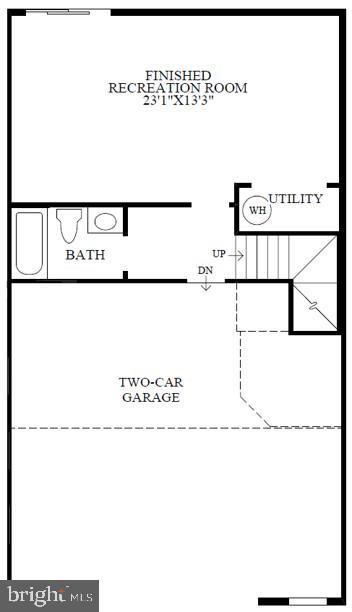 Lower  Level Floor Plan - 22517 WINDSOR LOCKS SQ, ASHBURN