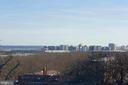 View from Balcony (photo zoom,) - 1401 N OAK ST N #305, ARLINGTON