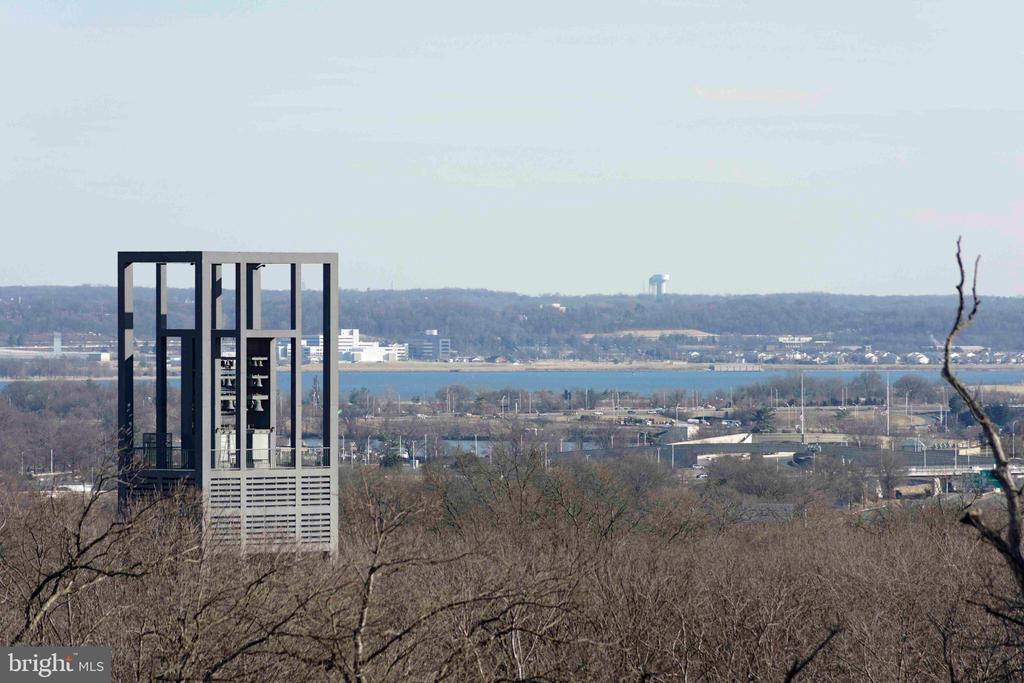 AF Bells, Potomac River & Beyond - zoom lens - 1401 N OAK ST N #305, ARLINGTON