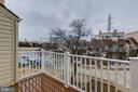 Second level balcony - 1039 WARWICK CT, STERLING