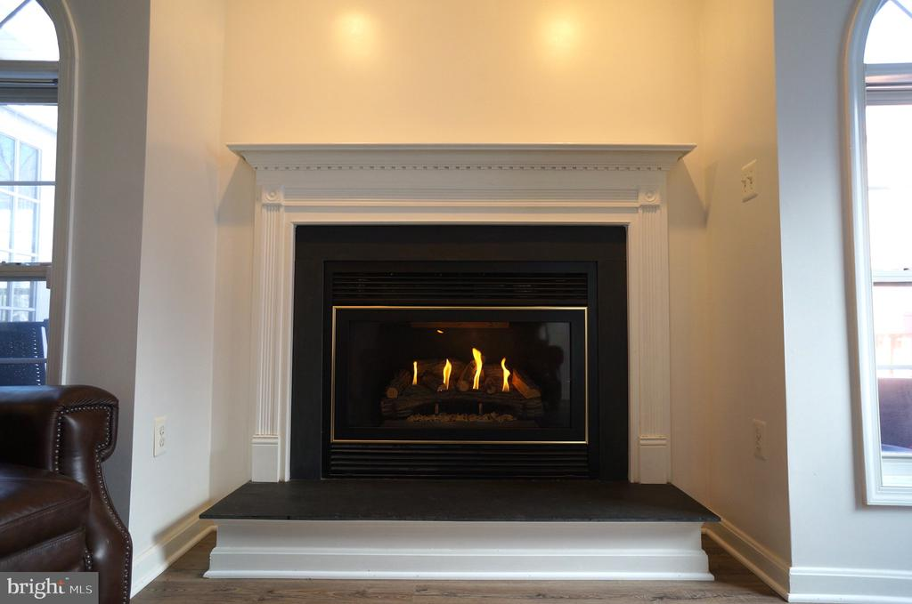 FamilyRoom Gas Fireplace - 22 LAKESIDE DR, STAFFORD
