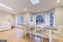 Spacious breakfast/sitting room - 5913 WELBORN DR, BETHESDA