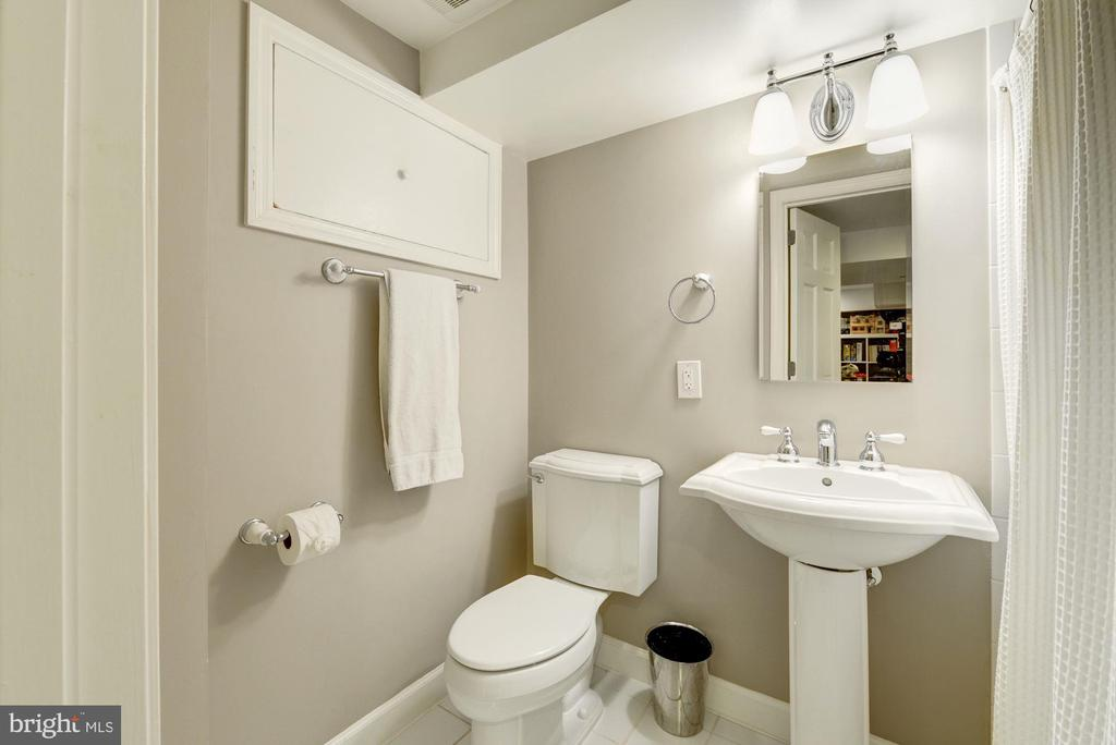 Basement full bath - 5913 WELBORN DR, BETHESDA