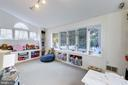 Sunroom/Playroom/Home Office - 5913 WELBORN DR, BETHESDA