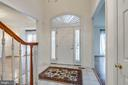Beautiful entrance to greet your visitors - 18403 KINGSMILL ST, LEESBURG