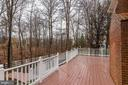 Gas line is available on the deck for your grill - 18403 KINGSMILL ST, LEESBURG