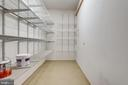 Third bay is converted into storage area 6.5' x 19 - 18403 KINGSMILL ST, LEESBURG