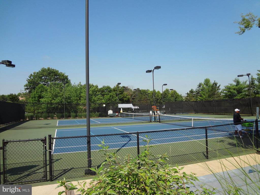 Community Tennis Courts - 18403 KINGSMILL ST, LEESBURG