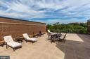 Rooftop with magnificent views. - 2111 WISCONSIN AVE NW #205, WASHINGTON