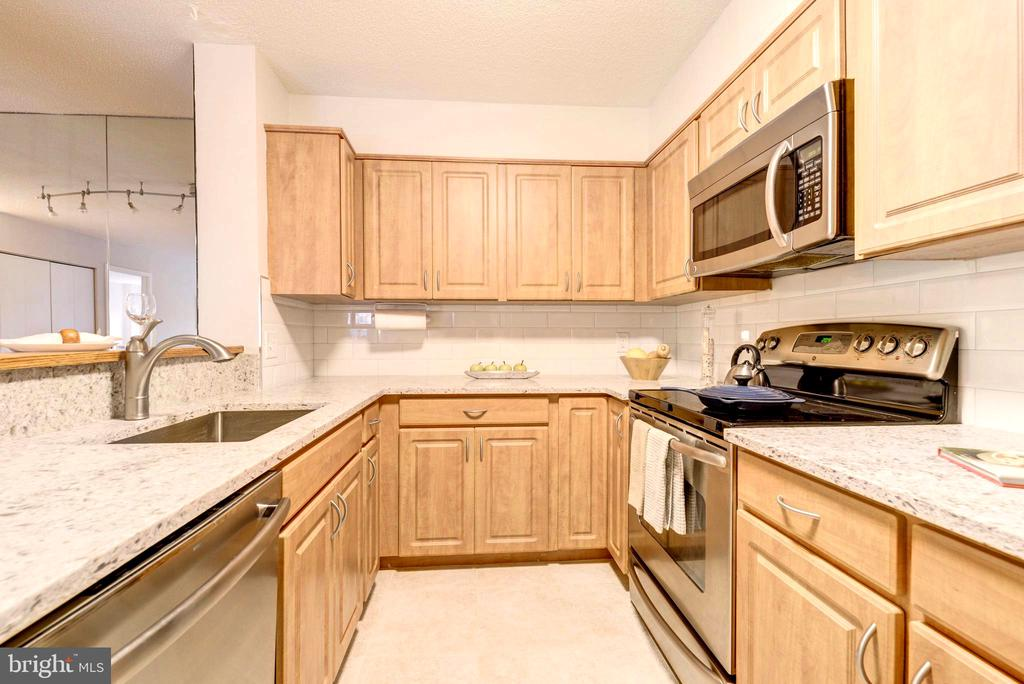 Plenty of Cabinet Space. - 2111 WISCONSIN AVE NW #205, WASHINGTON