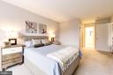 Perfect Natural Light at Master Bedroom. - 2111 WISCONSIN AVE NW #205, WASHINGTON