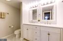 Updated Master Bathroom, - 2111 WISCONSIN AVE NW #205, WASHINGTON