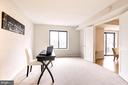 Bedroom with great light. - 2111 WISCONSIN AVE NW #205, WASHINGTON