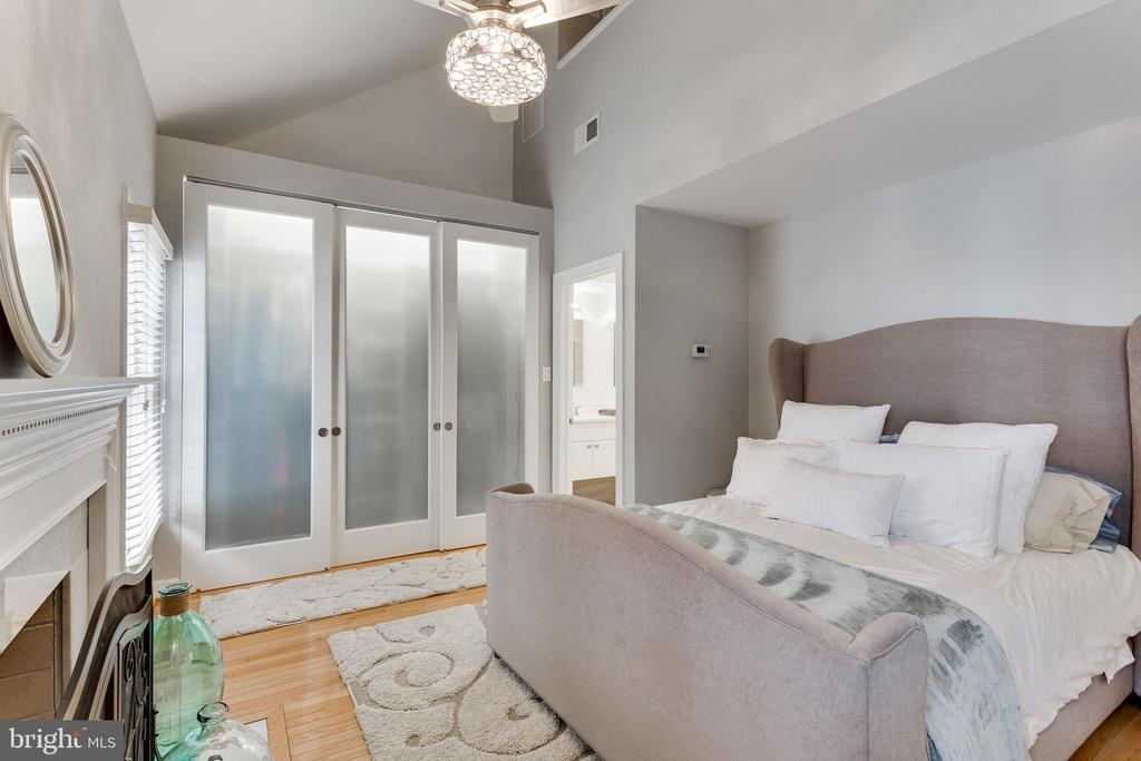 Luxurious master bedroom - 703 POTOMAC ST, ALEXANDRIA