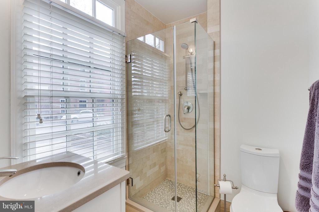 Main level bath with walk in shower - 703 POTOMAC ST, ALEXANDRIA
