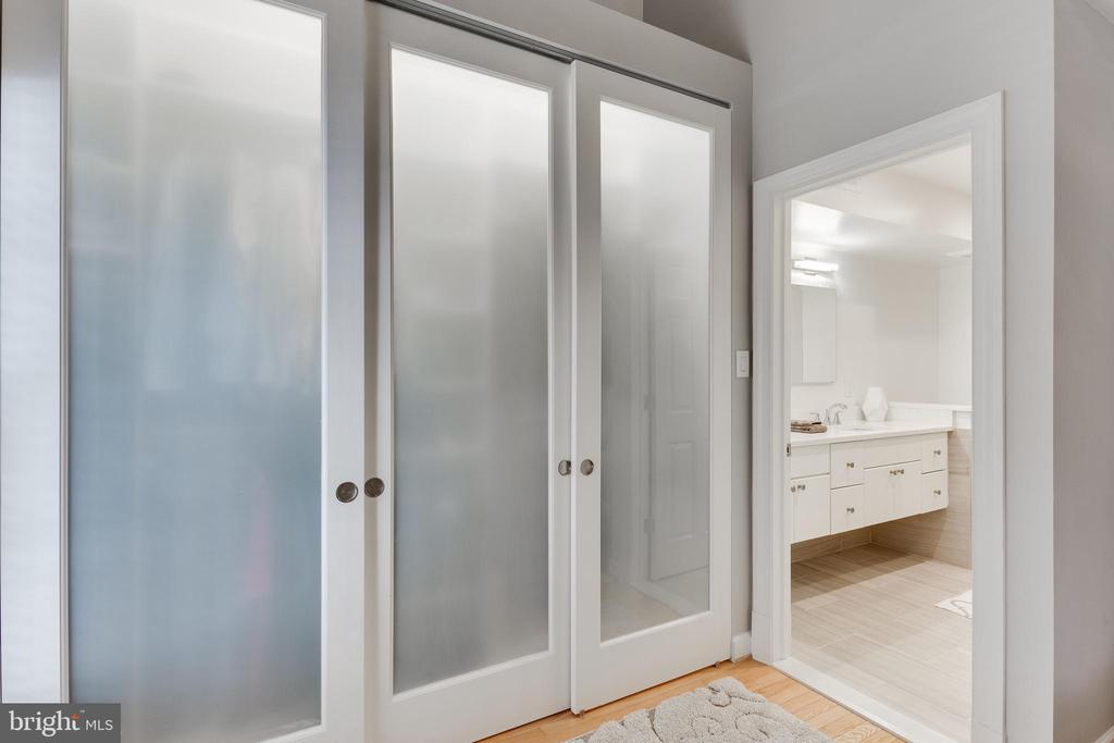 Spacious closet with built ins for his and hers - 703 POTOMAC ST, ALEXANDRIA