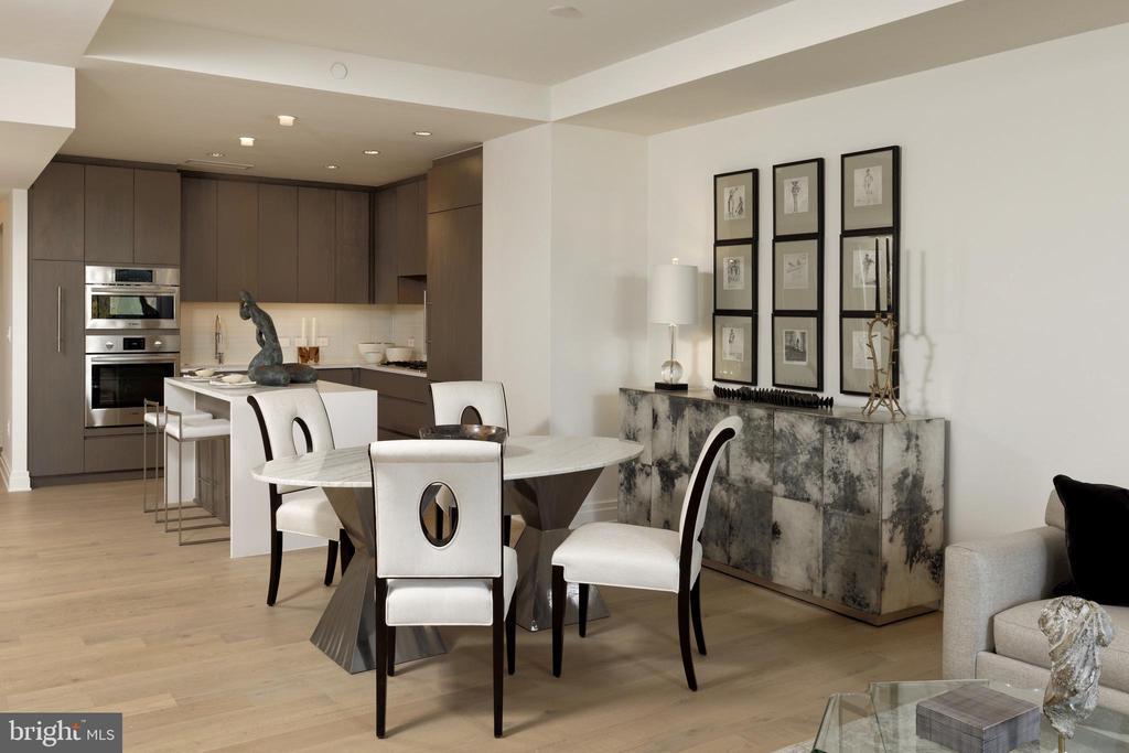 Dining Room - 2501 M ST NW #411, WASHINGTON