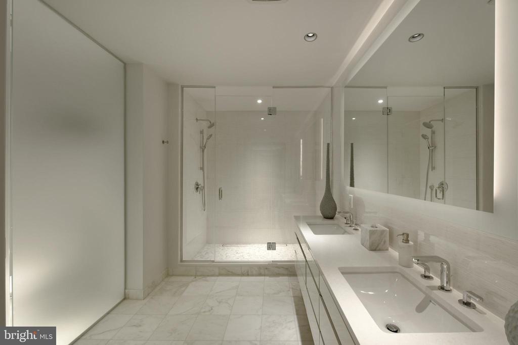 Master Bath - 2501 M ST NW #411, WASHINGTON