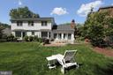 and a fabulous lawn to lounge on - 9097 WEXFORD DR, VIENNA