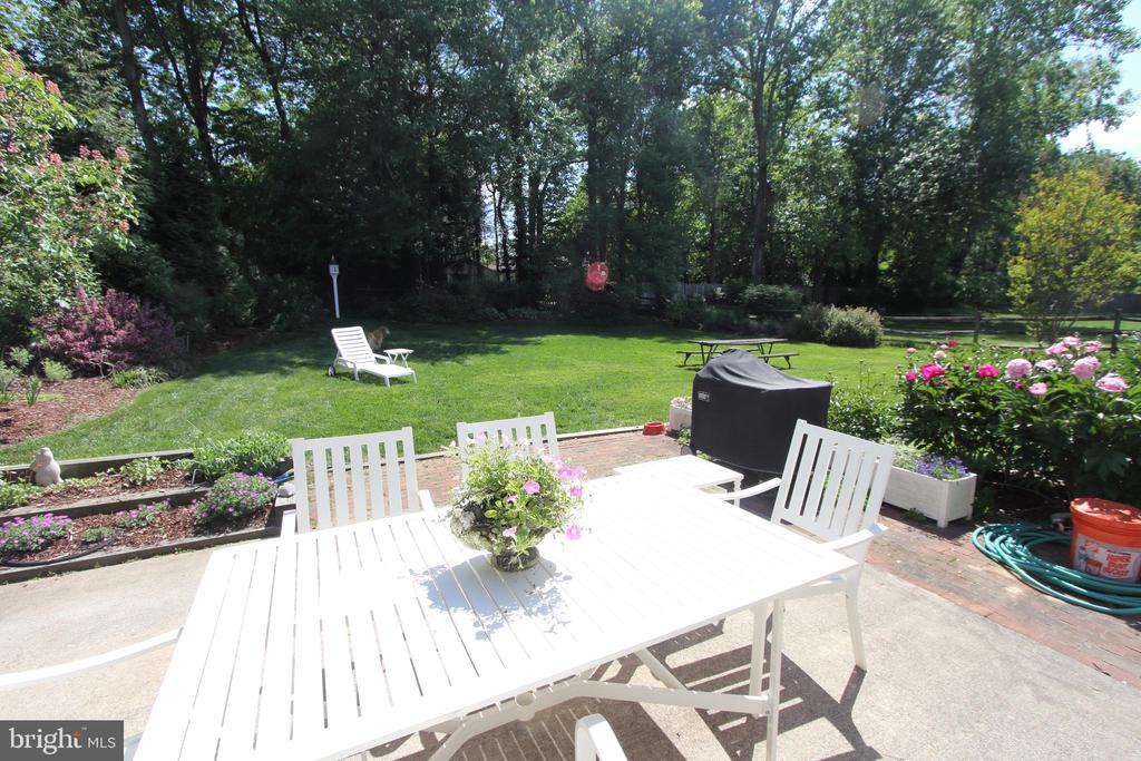 view becomes vibrant and alive with SPRING! - 9097 WEXFORD DR, VIENNA