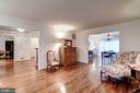 and the largest living room in Wexford South - 9097 WEXFORD DR, VIENNA