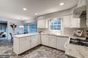 The super bright and spacious updated kitchen with - 9097 WEXFORD DR, VIENNA