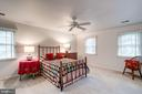 any bedroom suit will fit here comfortably - 9097 WEXFORD DR, VIENNA