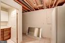 Hidden in the unfinished space is a secret, a - 9097 WEXFORD DR, VIENNA