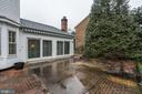Even on a rainy day these sliders let in the light - 9097 WEXFORD DR, VIENNA