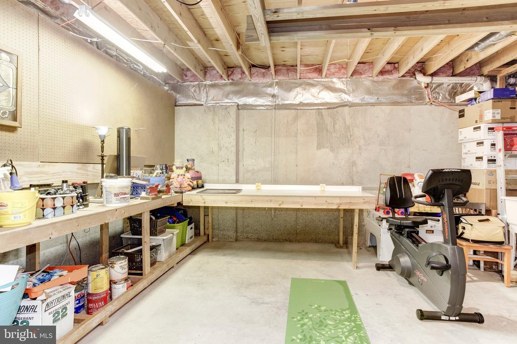 Unfinished Basement Space - 14104 ROCK CANYON DR, CENTREVILLE