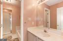 Hall Bathroom - 14104 ROCK CANYON DR, CENTREVILLE