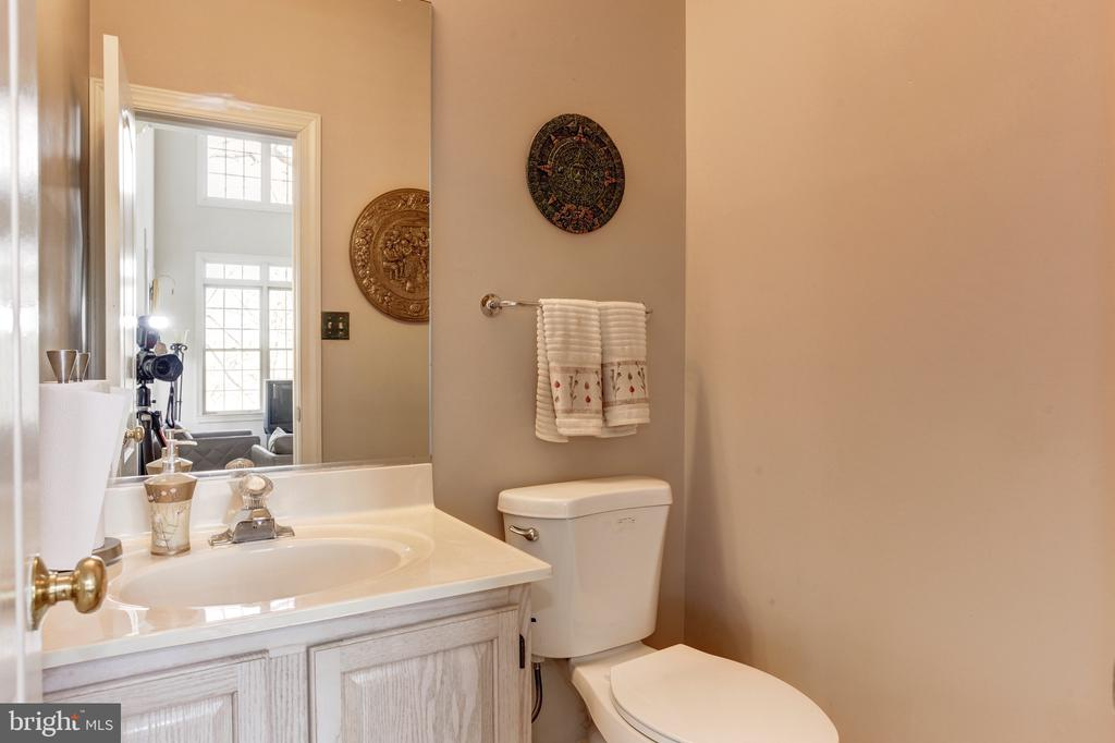 Powder Room - 14104 ROCK CANYON DR, CENTREVILLE