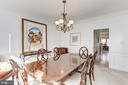 Dining Room - 14104 ROCK CANYON DR, CENTREVILLE