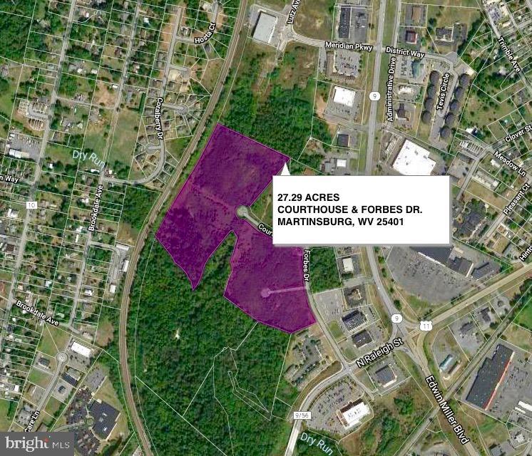 土地,用地 为 销售 在 Martinsburg, 西弗吉尼亚州 25401 美国
