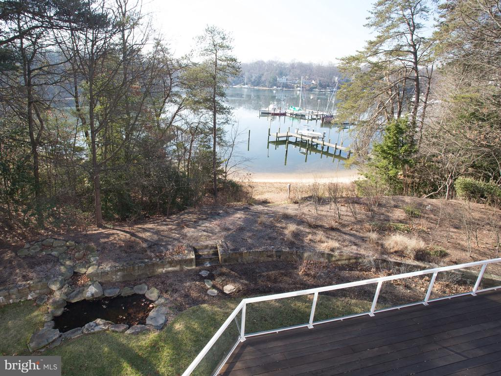 View from Private Deck off of Master Suite - 658 ROCK COVE LN, SEVERNA PARK
