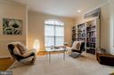 Living room features hardwood floor - 9100 BRIARWOOD FARMS CT, FAIRFAX