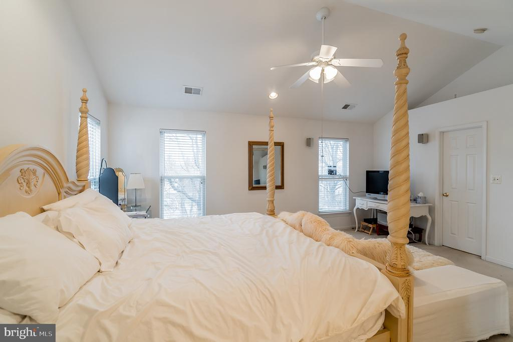 All the windows provide lots of natural light - 9100 BRIARWOOD FARMS CT, FAIRFAX