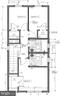 Upper level floor plan - 211 S JEFFERSON ST, MIDDLETOWN