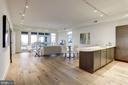 Living Room/Kitchen - 1468 BELMONT ST NW #3 WEST, WASHINGTON