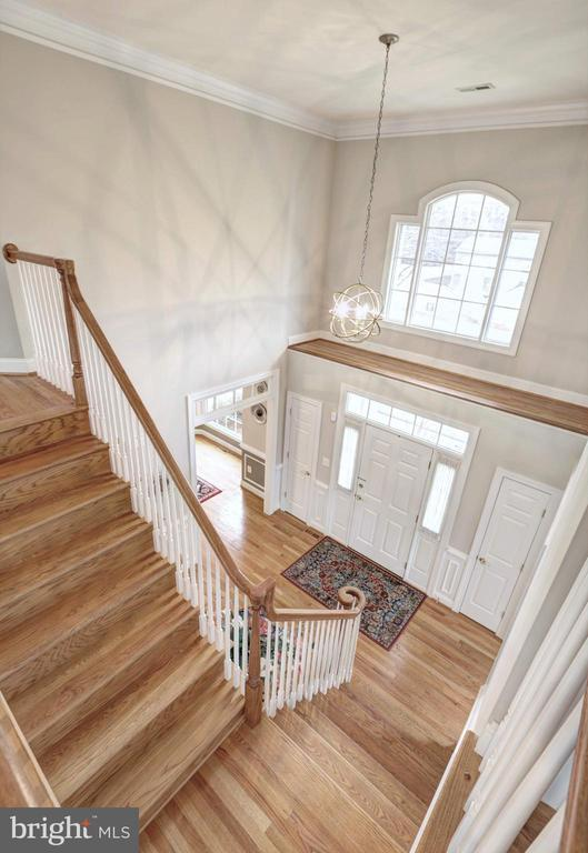 Foyer - 9321 WEIRICH RD, FAIRFAX