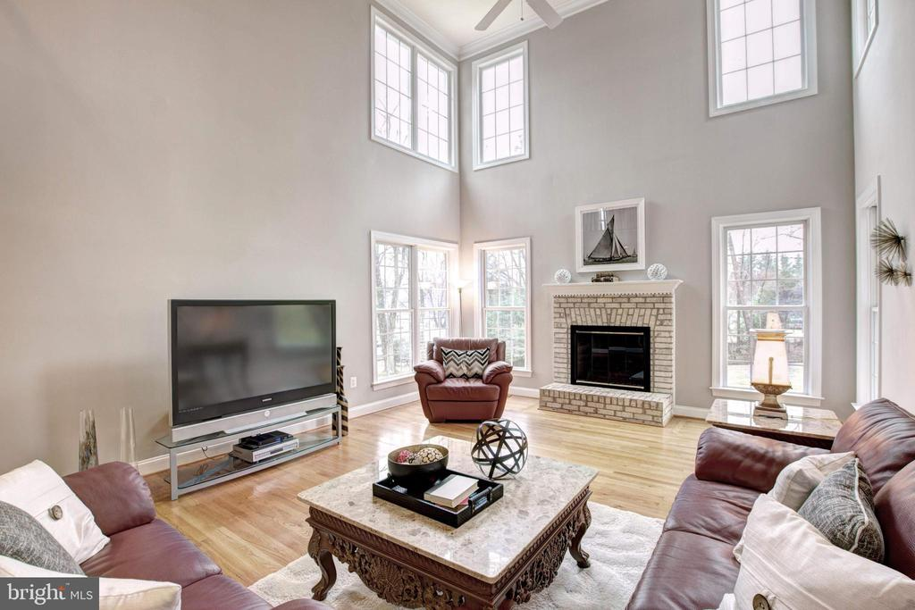 Family Room - 9321 WEIRICH RD, FAIRFAX